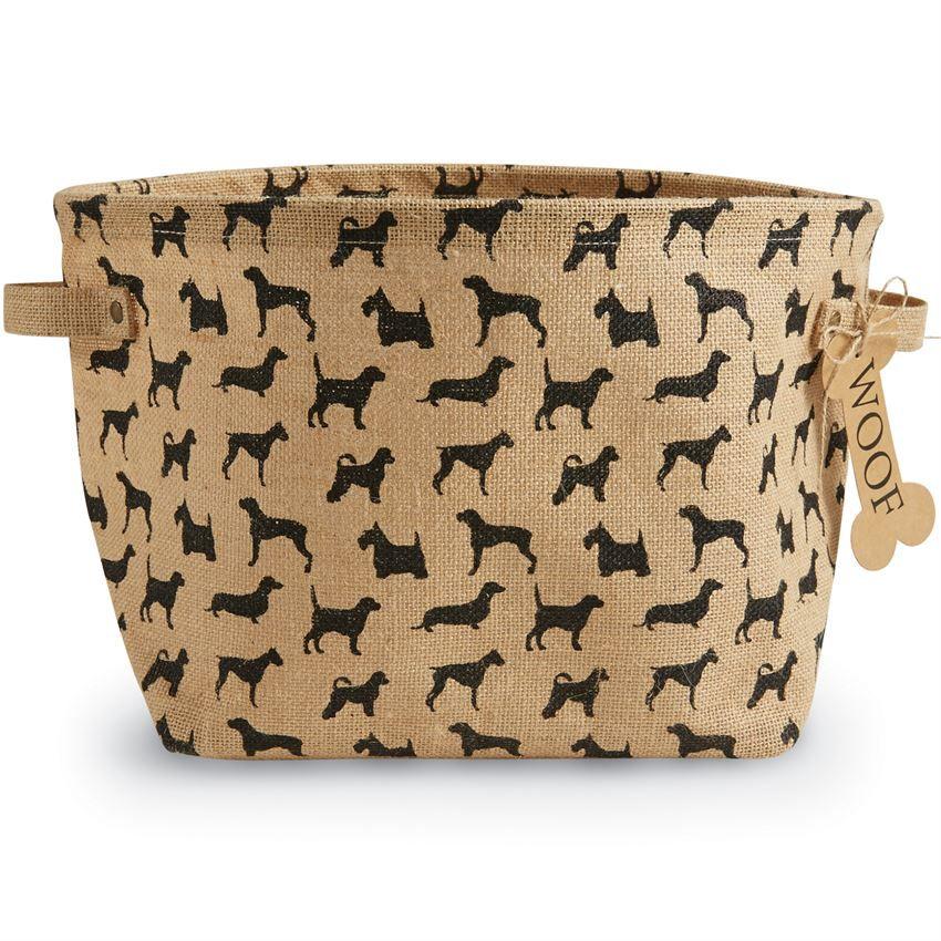 Dog Toys Basket