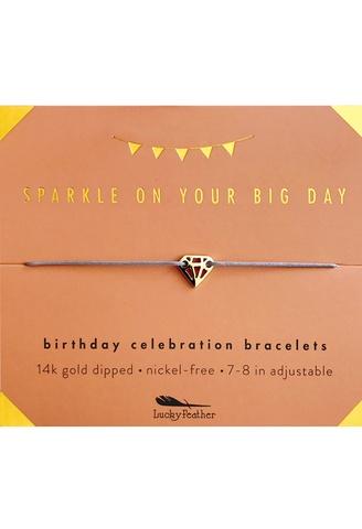 Bracelet Milestone and Celebration  Birthday Bracelet