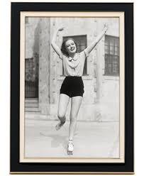 Frame Kate Spade Portland Enamel  4X6 Frame, Black/Cream