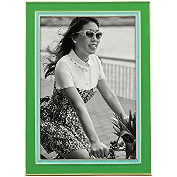 Frame Kate Spade Portland Enamel  4X6 Frame, Green/Turquoise