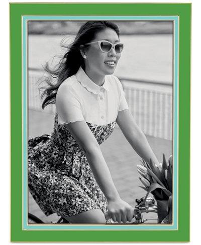 Frame Kate Spade Portland Enamel 5x7 Frame by Lenox, Green/Turq
