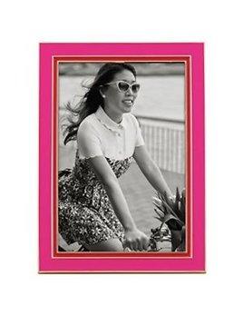 Frame Kate Spade Portland Enamel 5x7 Frame by Lenox, Pink/Red