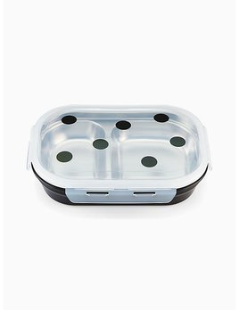 Kate Spade New York Deco Dot Lunch Box by Lenox