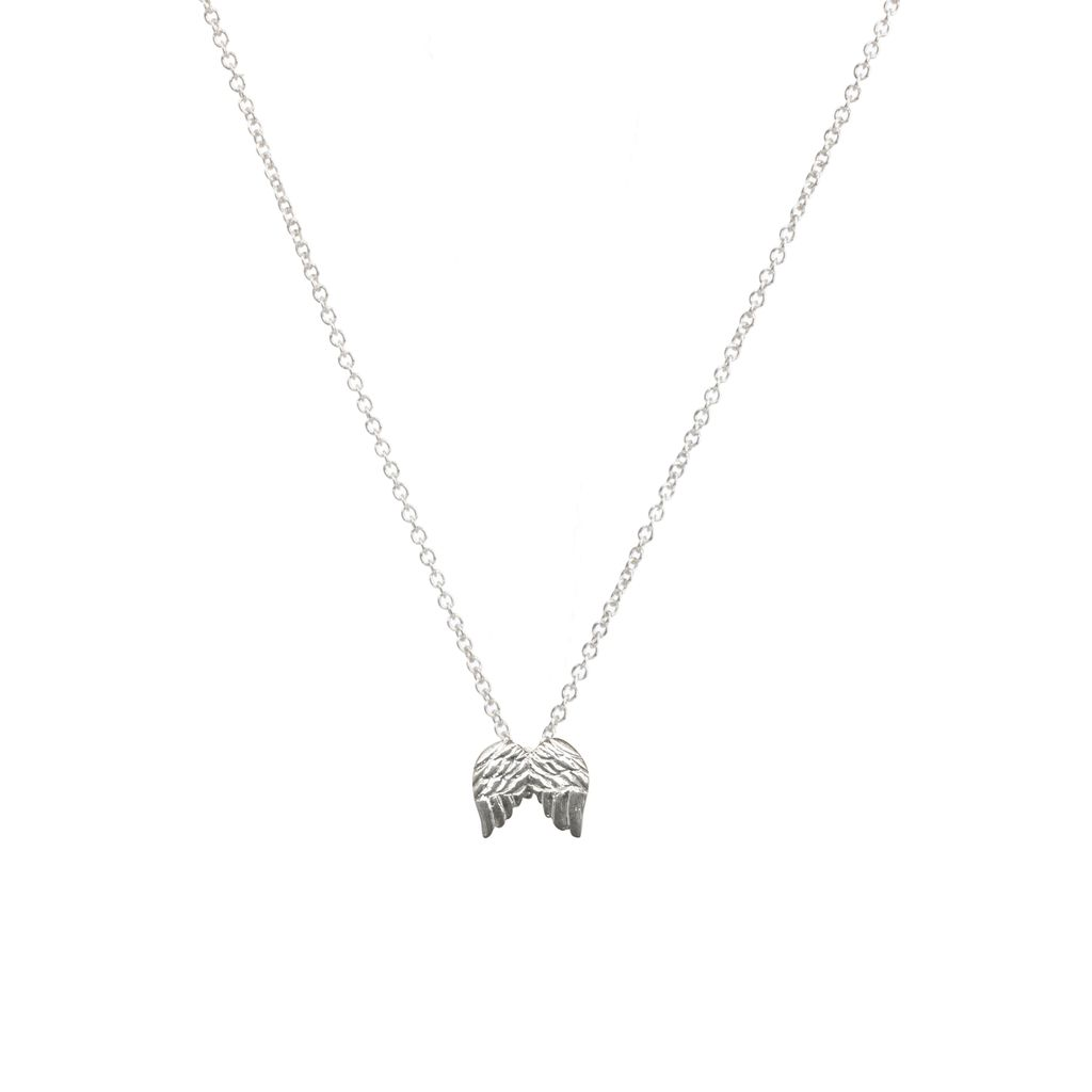 Necklace Guardian Angel Necklace - Silver