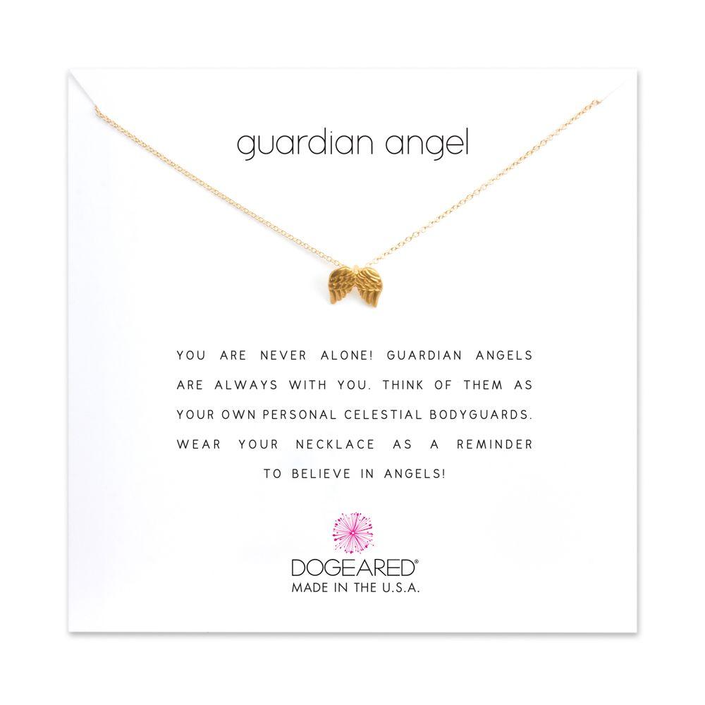 Necklace Guardian Angel Necklace - Gold