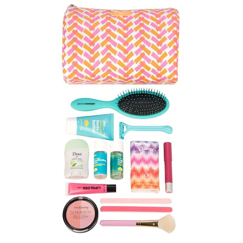 Toiletry Bag Packin' Heat by Scout, Spicy Tuna