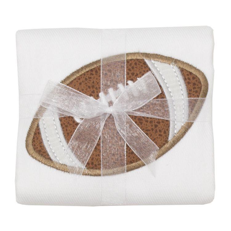 Burp Cloth Football Burpcloth