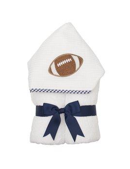 Towel Navy Football Everykid Towel