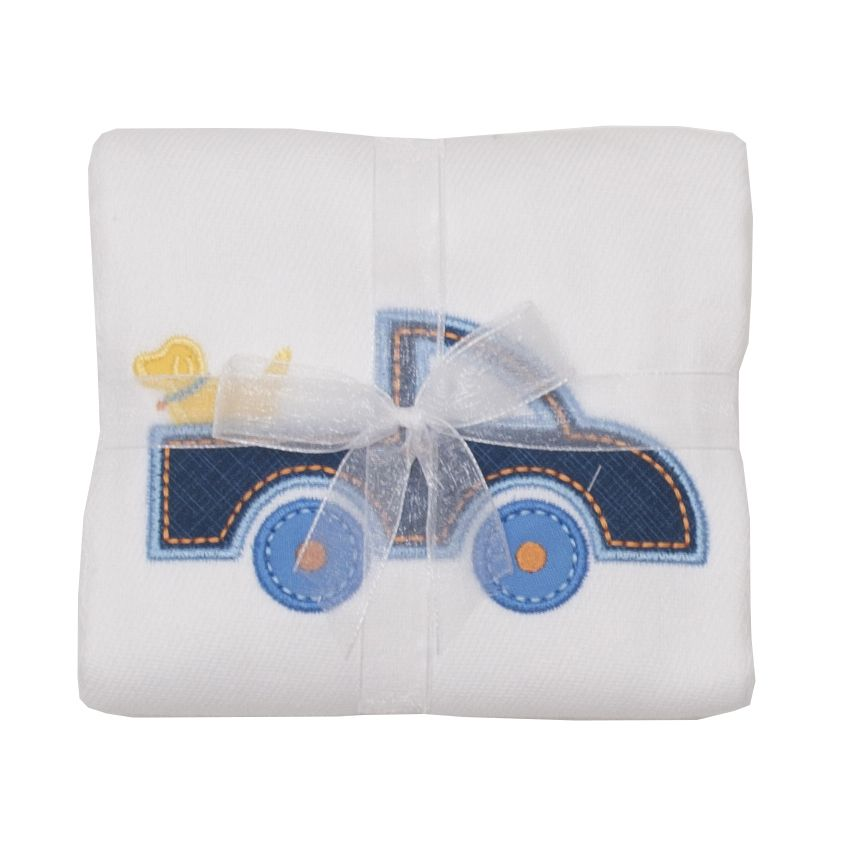 Burp Cloth Truck Burpcloth