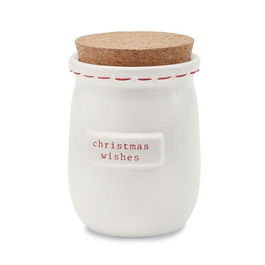Jar Christmas Blessing Jar