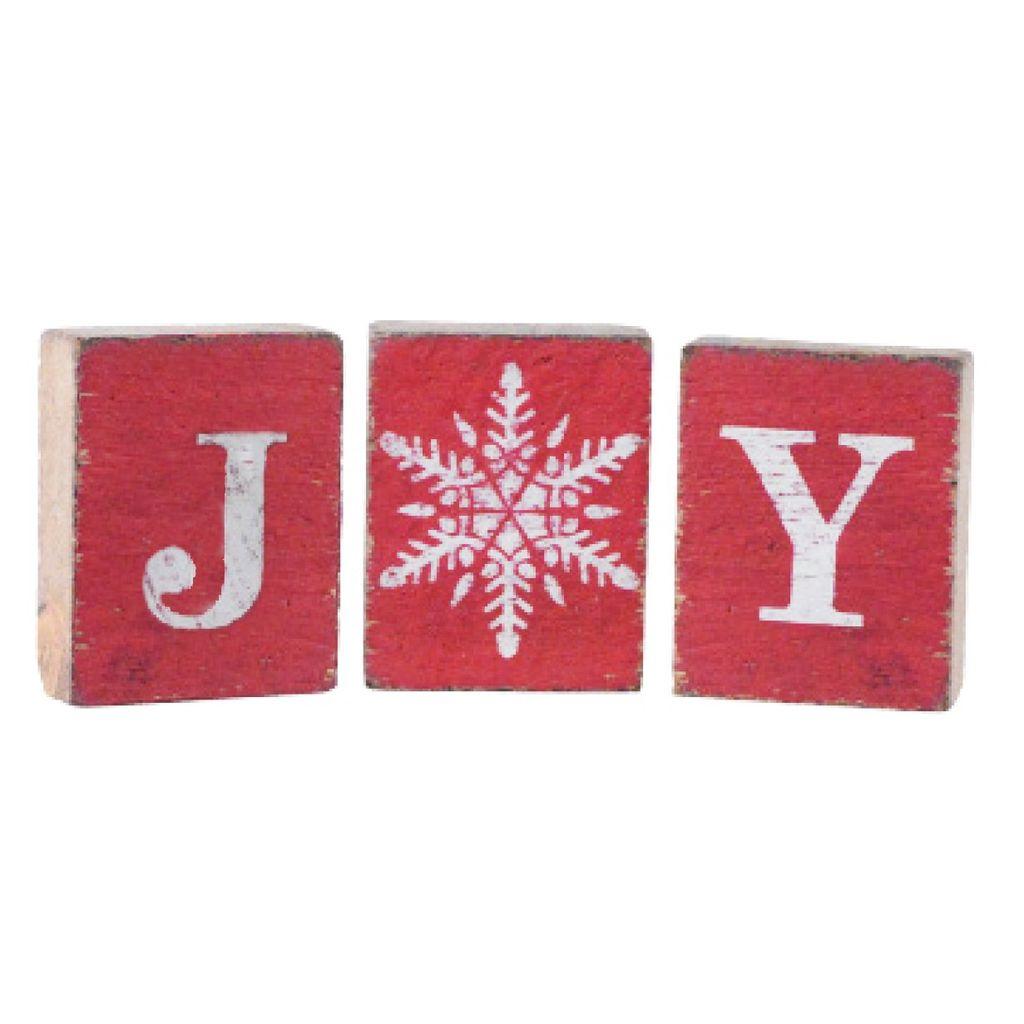 Red Tumbling Blocks, Joy Bundle, Snowflake