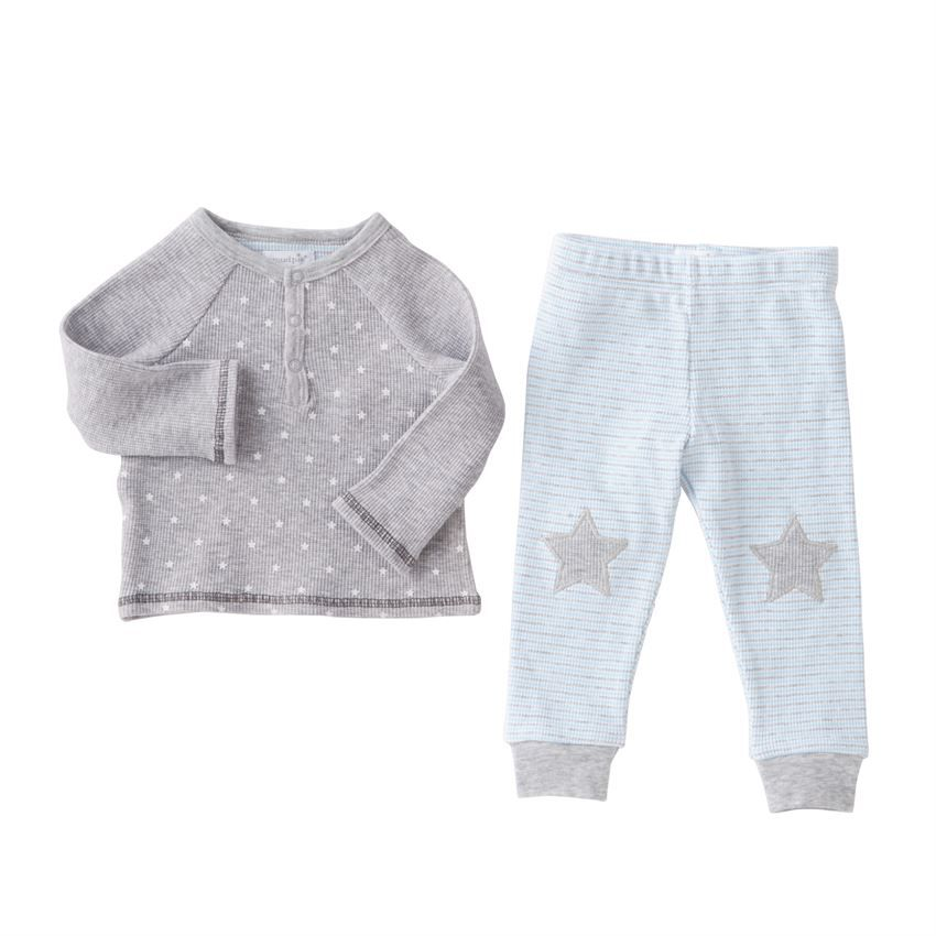 Star Henley Two-Piece Set