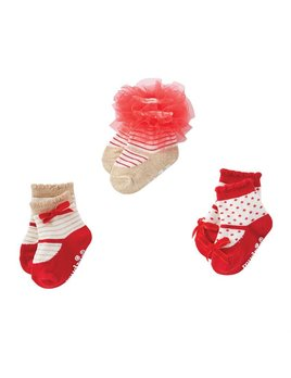 Holiday Mary Jane Sock Set