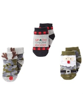 Camo Christmas Sock Set