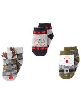 Camo Christmas Sock Set