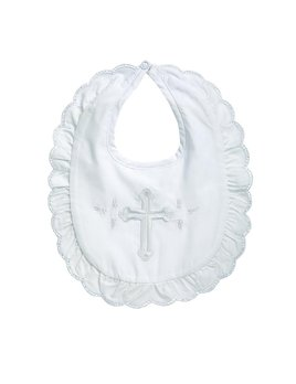 Bib Christening Bib - Girl
