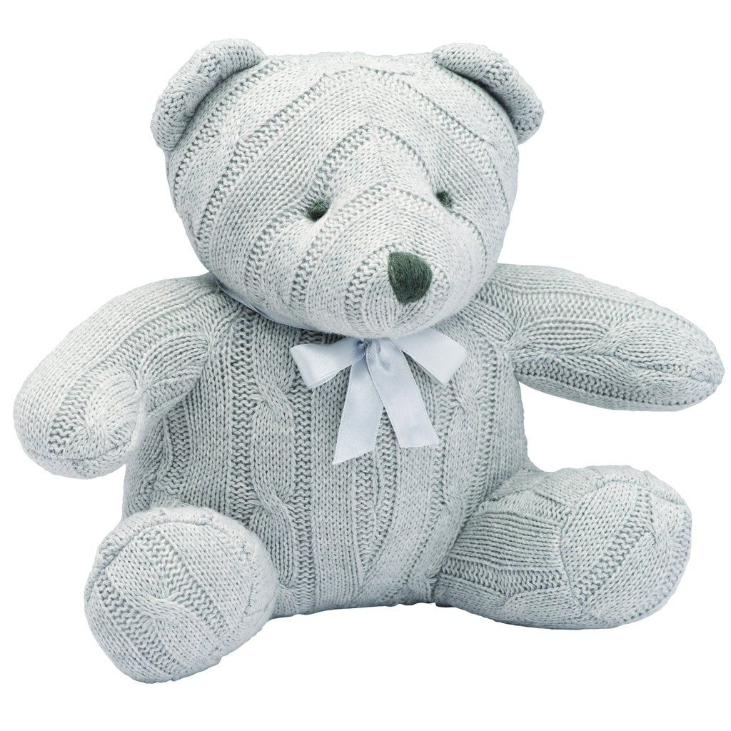 Baby Cable Bear - EB Gray