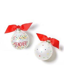 Ornament You're The Greatest Teacher Glass Ornament