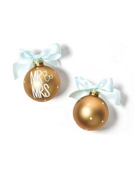 Ornament Mr. & Mrs. Glass Ornament