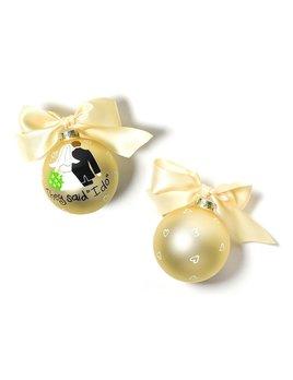 Bride Groom I Do Ornament