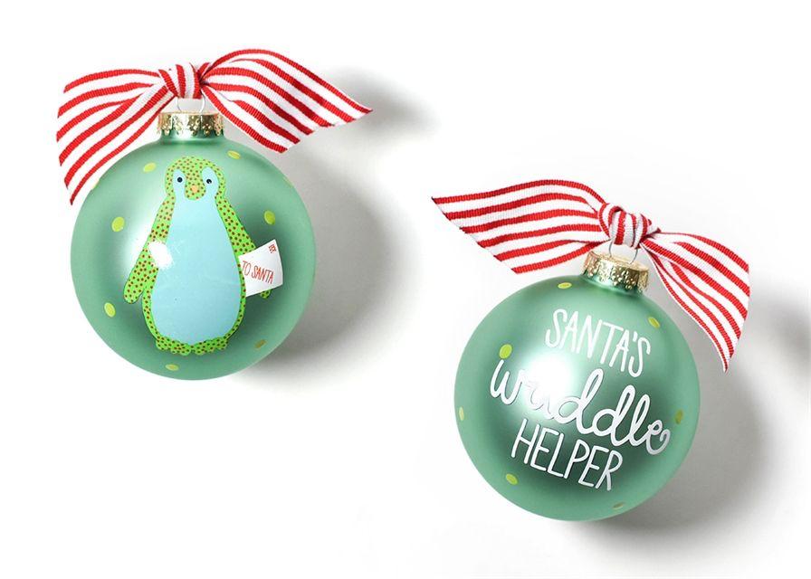 Christmas Critters Penguin Class Ornament