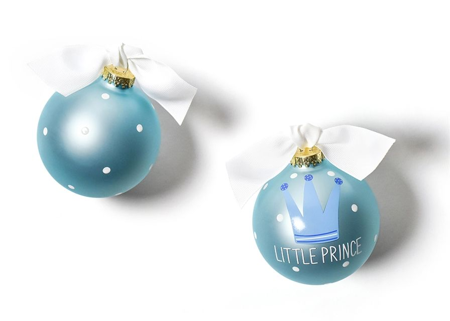 Ornament Little Prince Glass Ornament