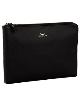 Clutch Zip File by Scout, Black