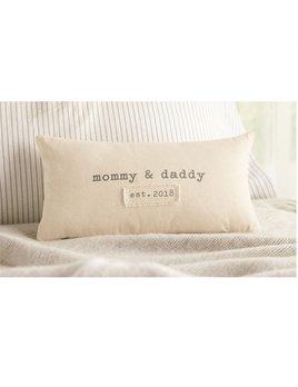 Pillow Parents Est. 2018 Pillow