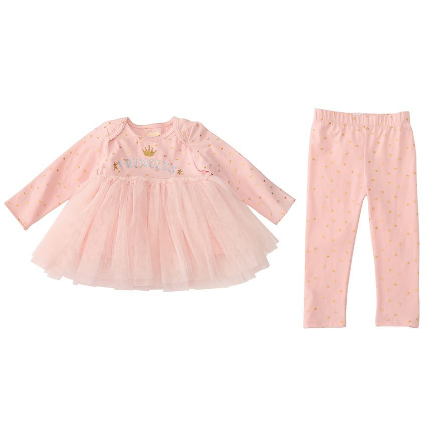 Princess Tutu Tunic & Leggings Set