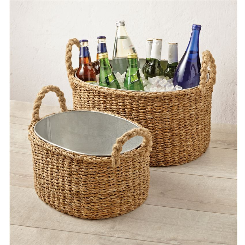 bar cooler tub wine beverage accessories simple unique for bucket ideas scoop wash party cheap walmart with outdoor ice c