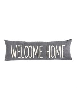 Pillow Welcome Home Washed Canvas Pillow