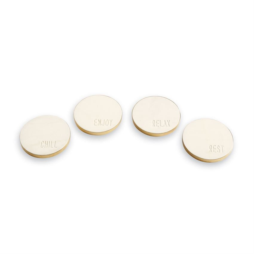 Coasters Marble Sentiment Coasters
