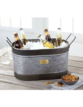 Bucket Chill Tin Beverage Tub