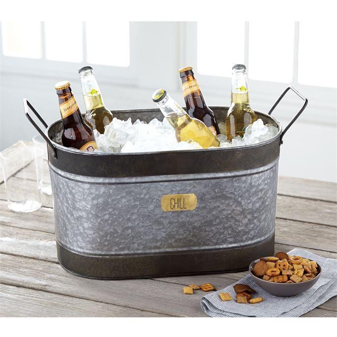 Bucket Chill Tin Beverage Tub