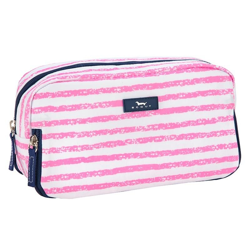 Cosmetic Bag 3 Way Bag by Scout, Pillow Chalk