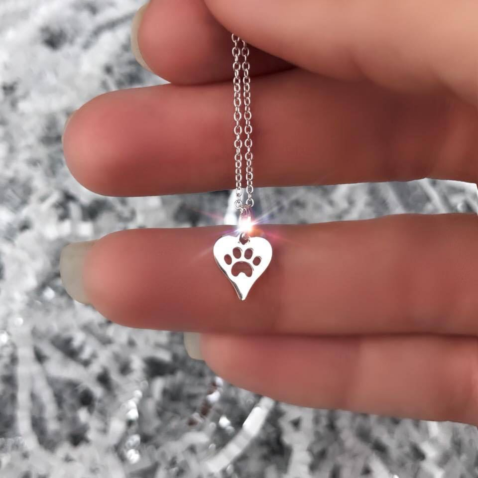 Necklace Pet Love Necklace Sterling Silver by Shine Life