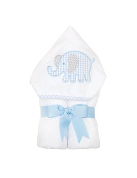 Towel Blue Elephant Everykid Towel