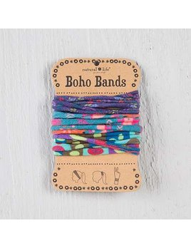 Purple, Aqua & Multicolor Boho Bands