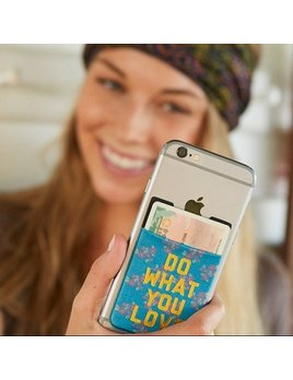 Do What You Love Phone Pocket