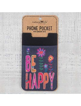 Be Happy Phone Pocket