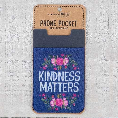 Kindness Matters Phone Pocket