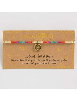 Bracelet Live Happy Giving Bracelet