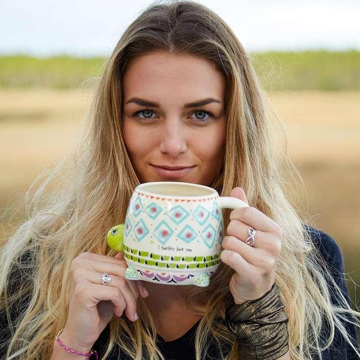 Mug Turtle Folk Art Mug