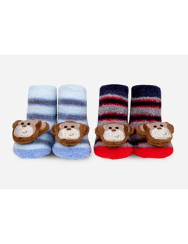 Monkey Rattle Socks