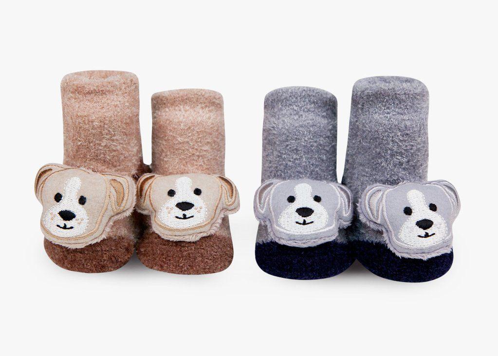 Puppy Rattle Socks