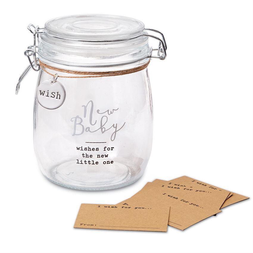 Jar New Baby Wish Jar Set