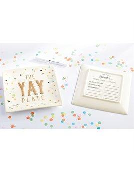 PLATE Yay Plate Set