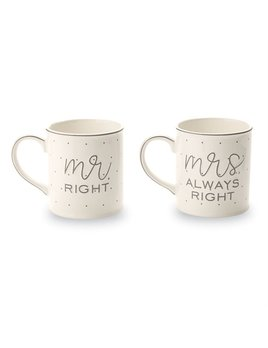 Mug Mr. & Mrs. Boxed Mug Set