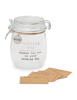 Jar Wedding Wish Jar Set