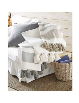 Blanket Woven Tassel Throw Blanket